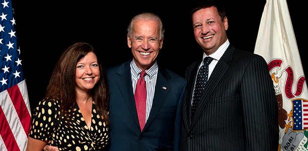 With Vice President Joe Biden